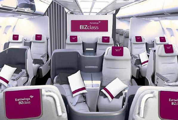 Die neue Business Class von Eurowings