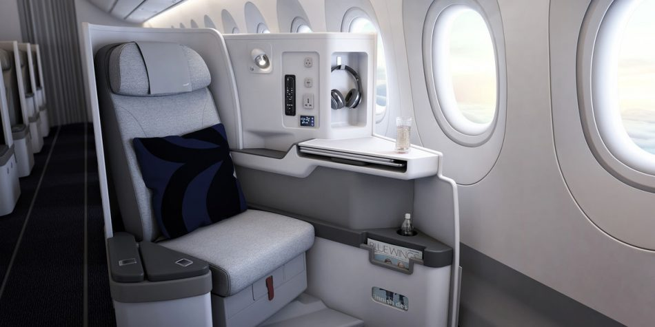 Die neue Businessclass der Finnair