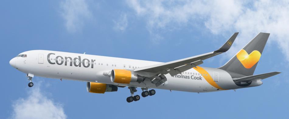 Die Fluggesellschaft Condor bietet zahlreiche Flugzielein der Karibik an.