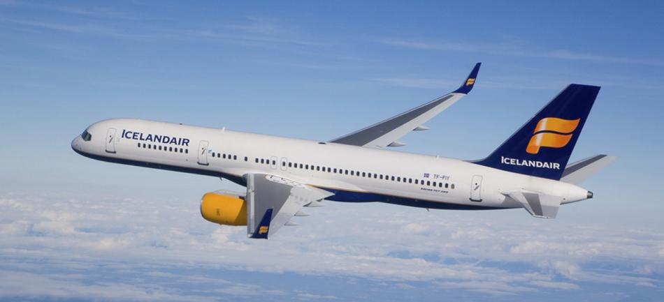 Mit der Fluggesellschaft IcelandAir billige Flüge buchen.
